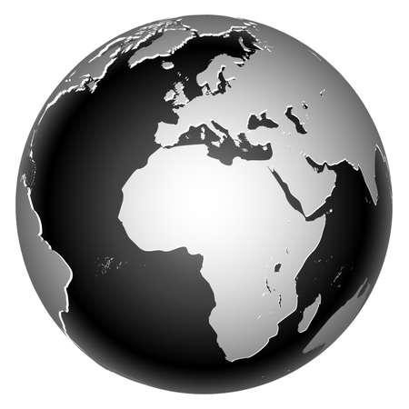 Icône de monde global planète Terre