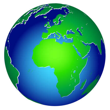 conscience: World global planet earth icon