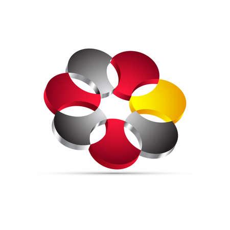 ellipses: business logo, icon