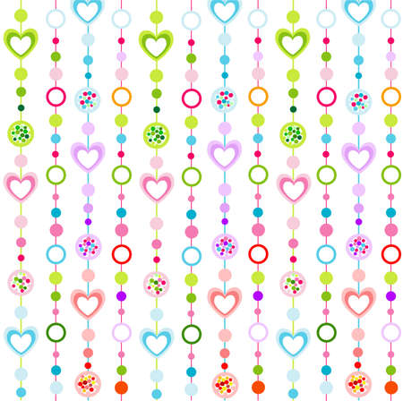 seamless pattern with little hearts Stock Vector - 10619523
