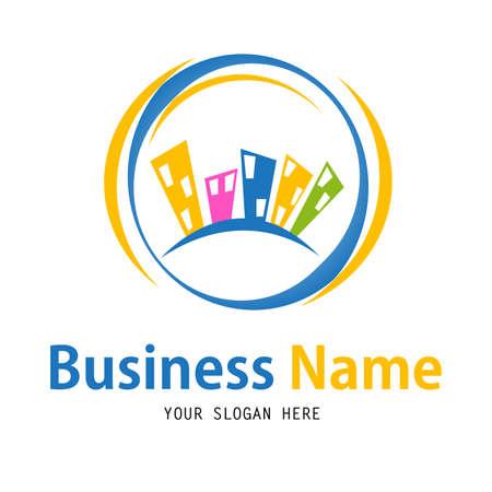 casa logo: affari casa icone del design