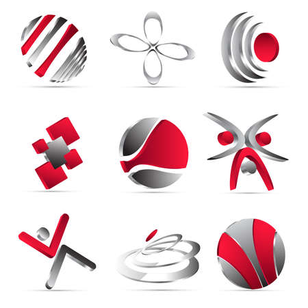business icons design Stock Vector - 10619555