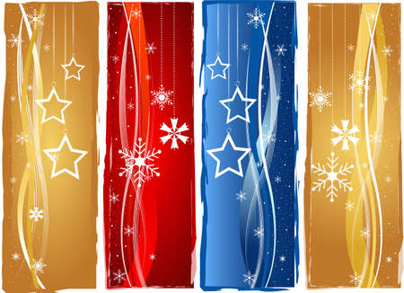 Christmas banner set Stock Photo - 10990732