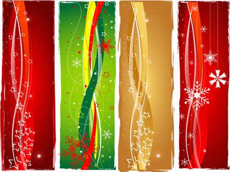 Christmas banner set Stock Photo - 10990743