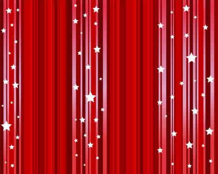 Theater curtain background Stock Vector - 10990788