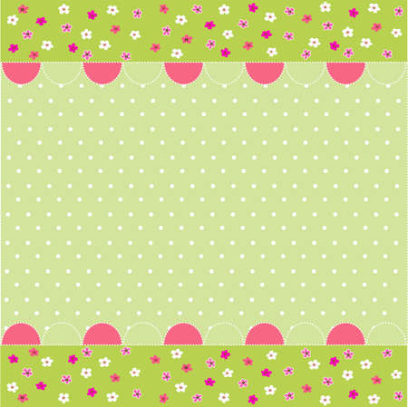 seamless baby pattern, baby card Stock Vector - 11016229
