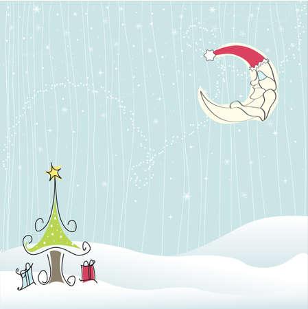 Merry Christmas - Winter Stock Vector - 11016244