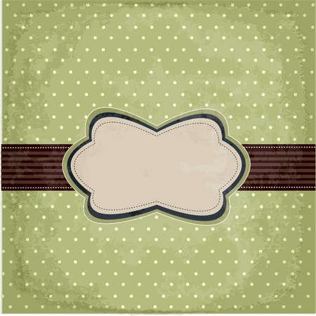 polka: Vintage polka dot design