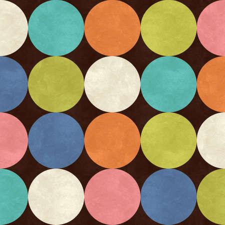 red polka dots: puntos de fondo la polca