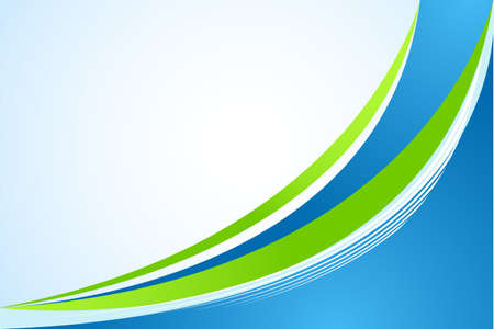 abstract green  and blue background Vector