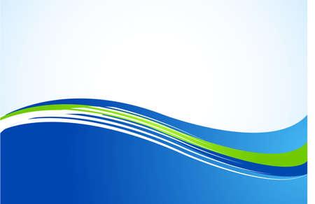 astratto sfondo verde e blu Vettoriali