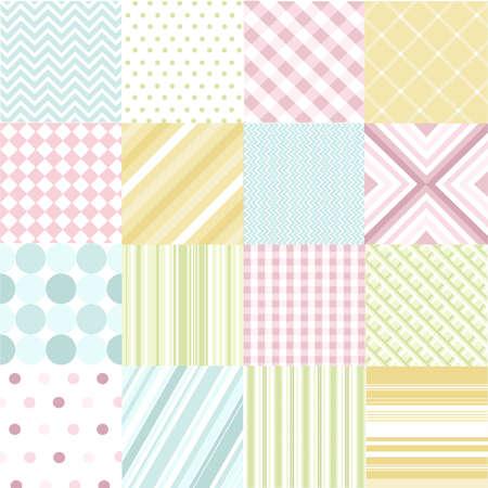 naadloze patronen met stof textuur