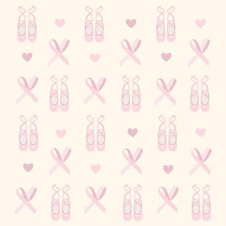 ballerina shoes: ballerina shoes background  Illustration