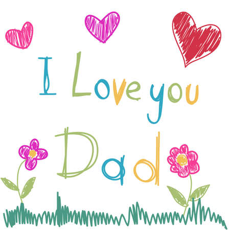 Father s Day Stock Illustratie