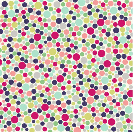 polka dots: seamless pattern with fabric texture