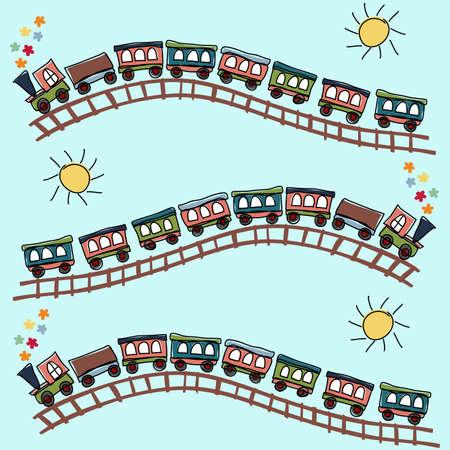 toy train: train pattern