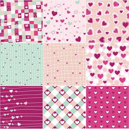 an adorable: heart patterns
