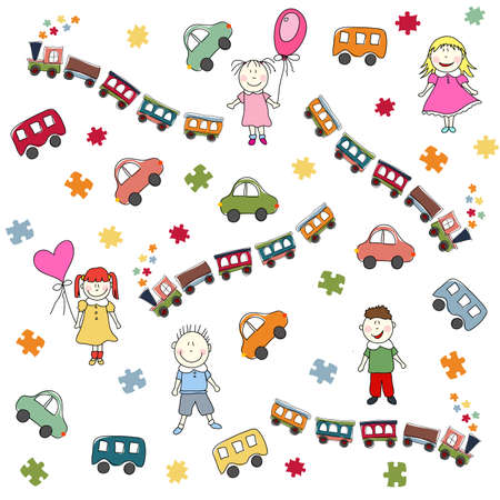 장난감 패턴
