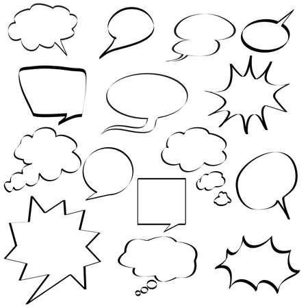 boom box: comic speech bubbles