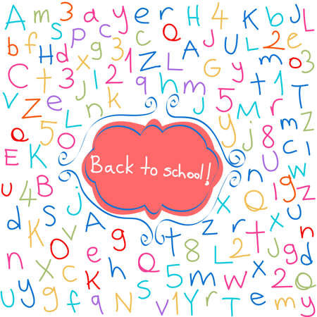 Back to school Stock Vector - 15062774
