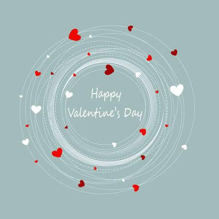 Happy valentine s day Vectores