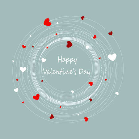 Happy valentine s day Illustration