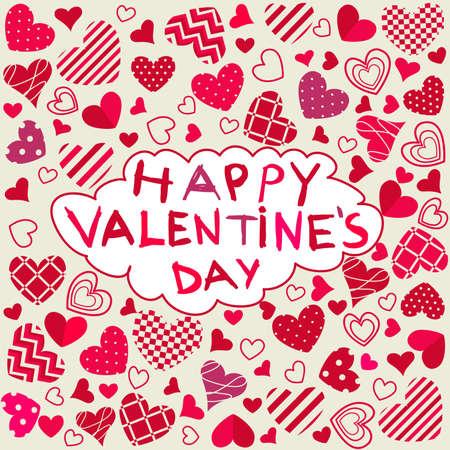 happy valentine s day: Happy Valentine s Day Illustration