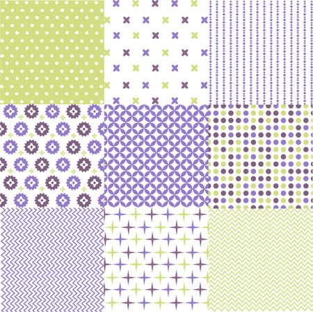 패브릭 질감 원활한 패턴