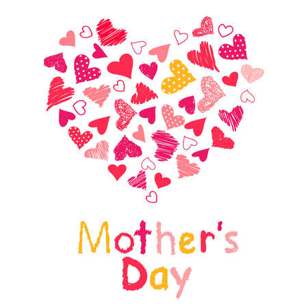 mother s day: Mother s Day Illustration