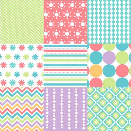 布の質感とのシームレスなパターン