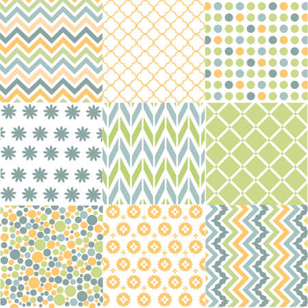 blue clip: Seamless patterns with fabric texture