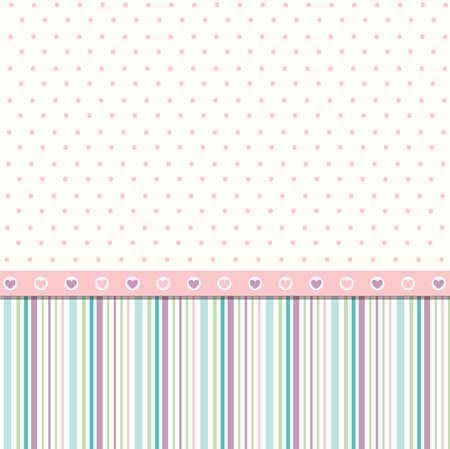 vintage baby: Seamless pattern, wallpaper