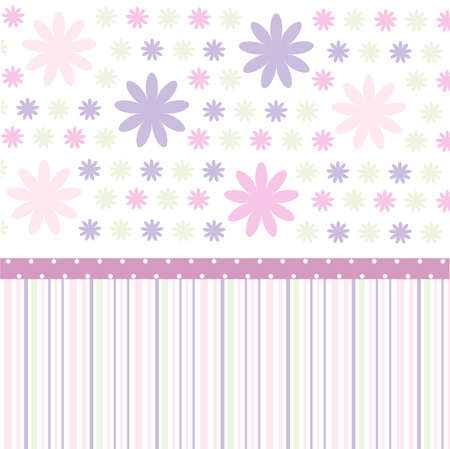 Seamless pattern, wallpaper Vector