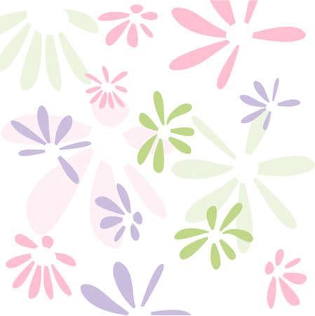 seamless floral: Seamless floral pattern, wallpaper