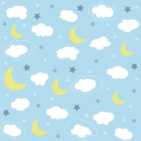 원활한 아기 패턴, 벽지