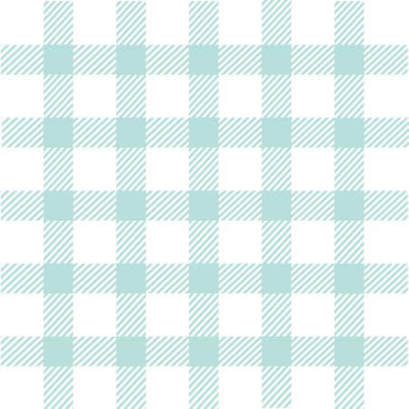 원활한 블루 격자 무늬 패턴 일러스트