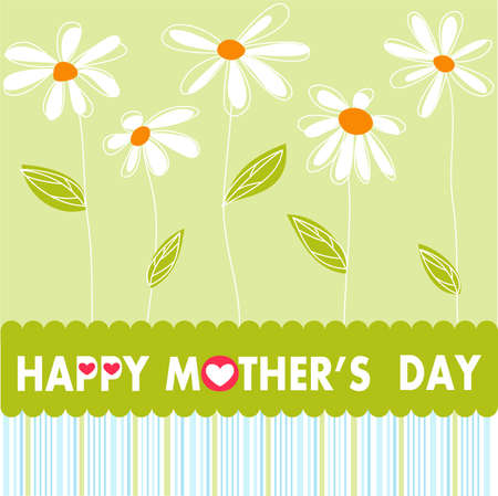 children s: Happy Mothers Day flowers