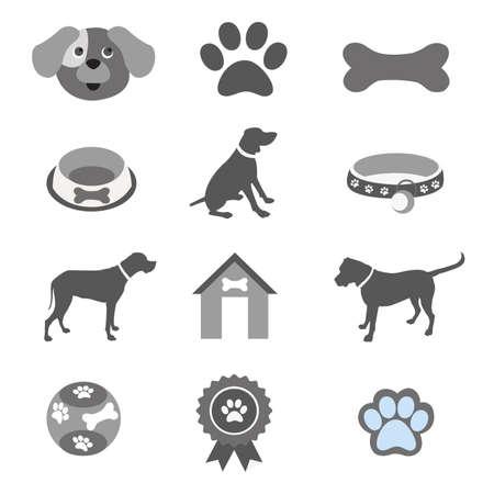 kennel: Pet icons set