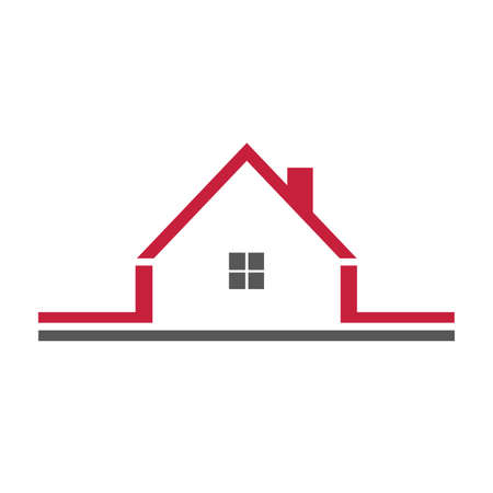 icone immobilier: Ic�ne Immobilier Illustration