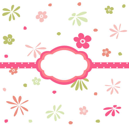 Seamless floral pattern, wallpaper Vector