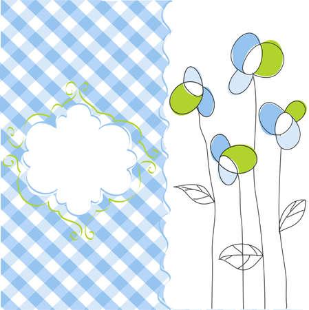 Seamless floral pattern, wallpaper Vector