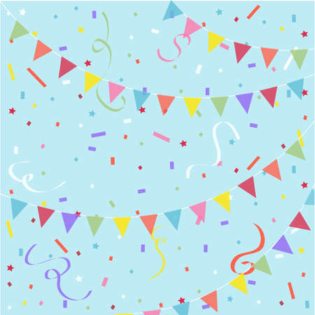 Party, festive background Stock Illustratie
