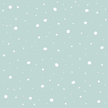 flaked: Winter snowflakes blue background