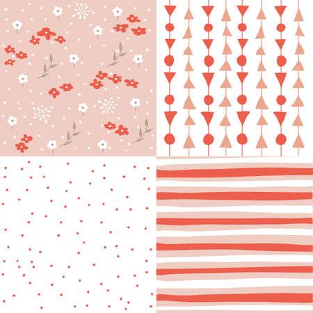 seamless patterns: Set of seamless patterns