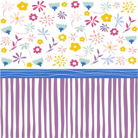 wall paper: Seamless floral pattern, wallpaper