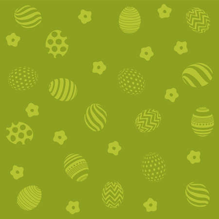 Easter holiday green background for printing on fabric, paper for scrapbooking Illusztráció