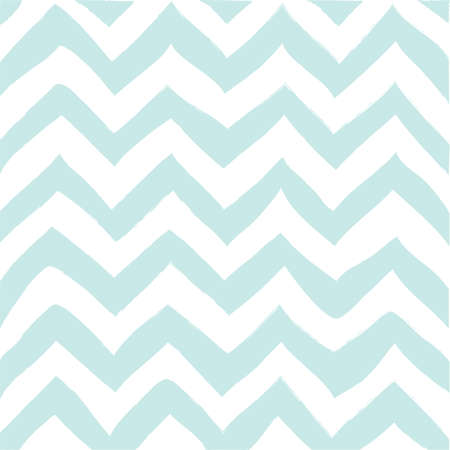 Hand drawn zigzag pattern seamless vector