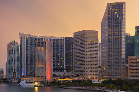 Downtown Miami Financial District Brickell