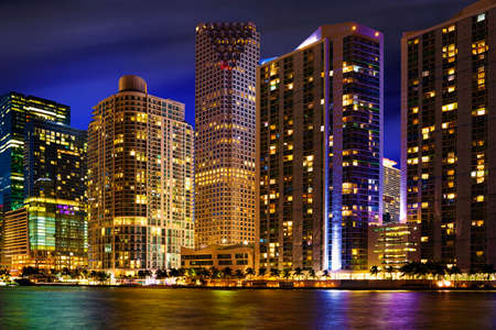 Downtown Miami Skyline, Florida, United States photo