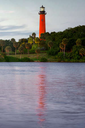 jupiter light: Jupiter, Florida, United States Stock Photo